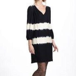 Floreat Inkwash Shift Dress with Tie Dye Effect